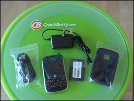 BlackBerry 9000 Unboxed