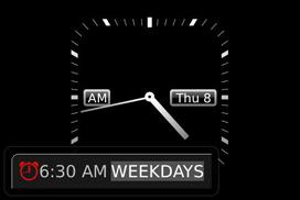 Setting the Alarm