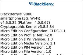 More BlackBerry 9000 Details