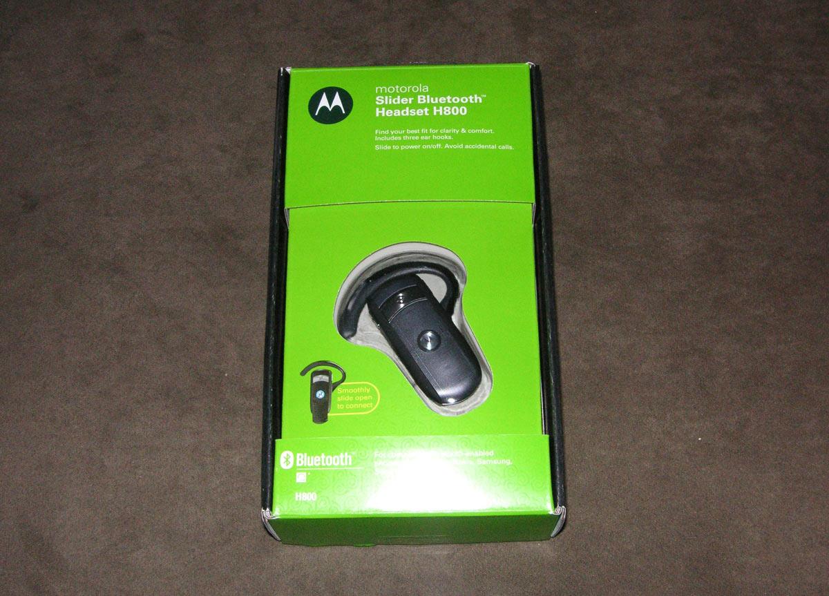 db6426f5f7d Bluetooth Headset Comparison and Review: Motorola HS850; Motorola H700;  Motorola H800 Slider   CrackBerry.com