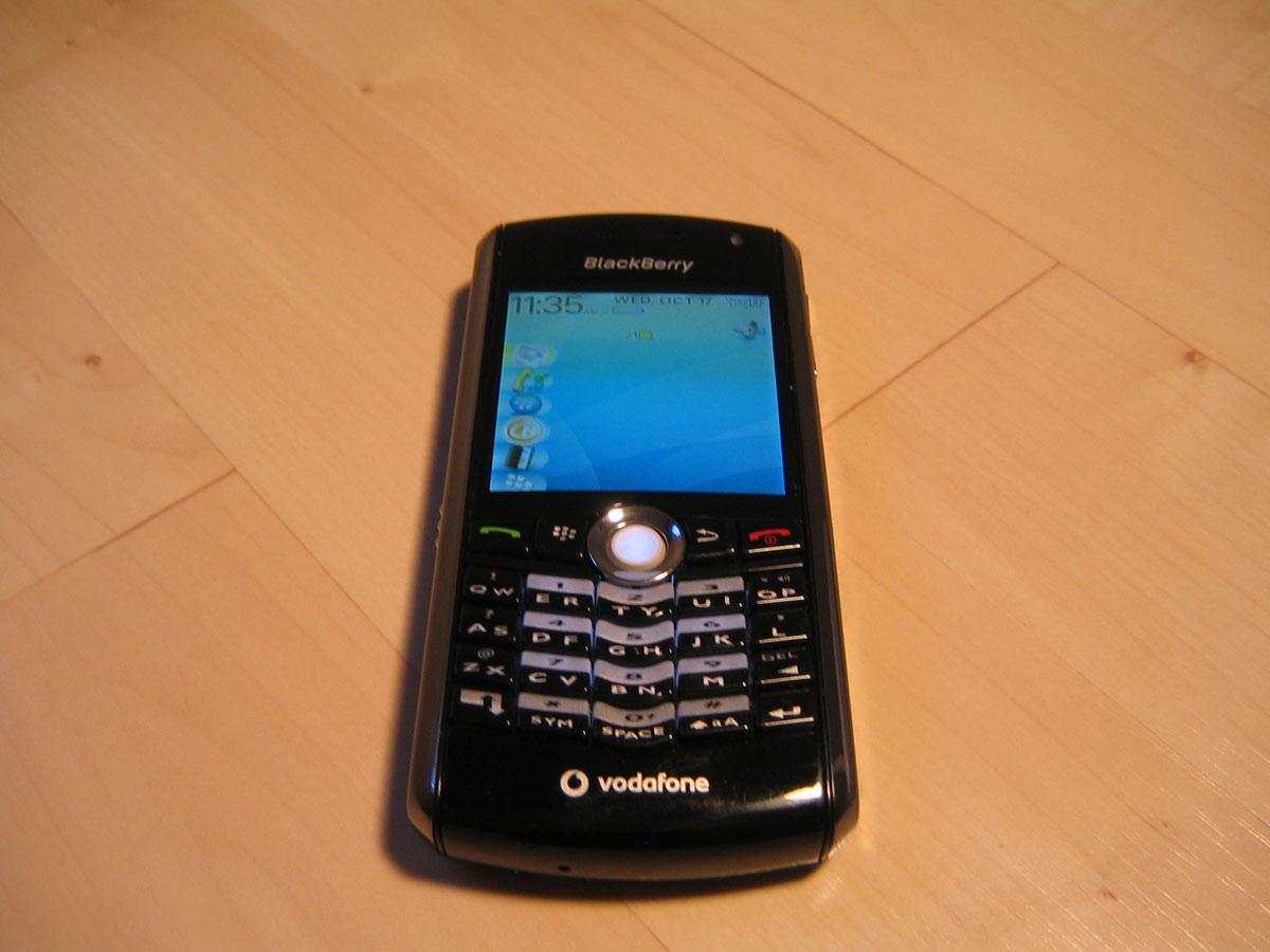 Blackberry Pearl 8100 Case