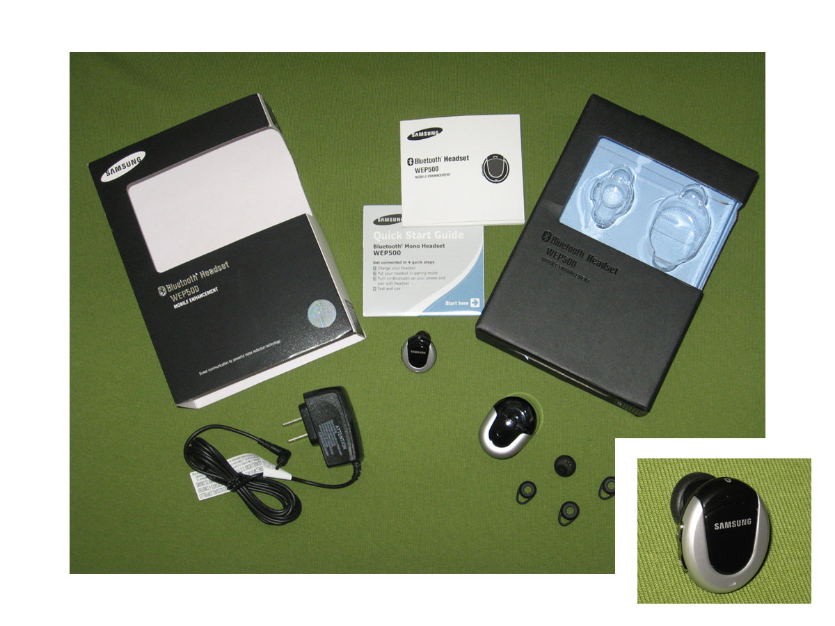 accessory review samsung wep 500 bluetooth headset crackberry com rh crackberry com Samsung Instruction Manual Samsung Owner's Manual