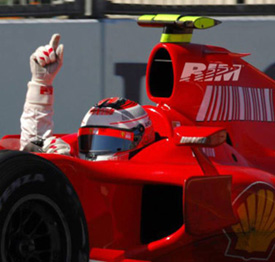 RIM to Sponsor Formula 1?