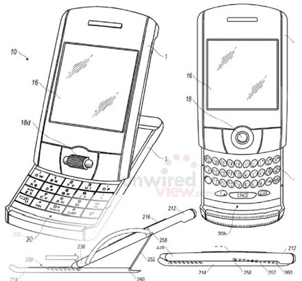 RIM BlackBerry Tilt & Slide Phone