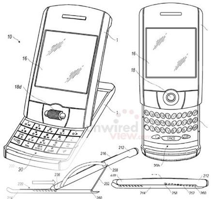 RIM BlackBerry Tilt & Slide Phone