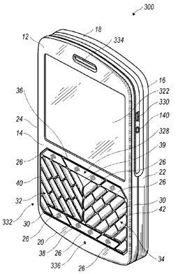 RIM Patent - Angular Keyboard