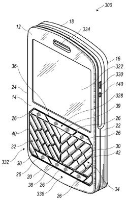 RIM Patent - Angular Keyboard