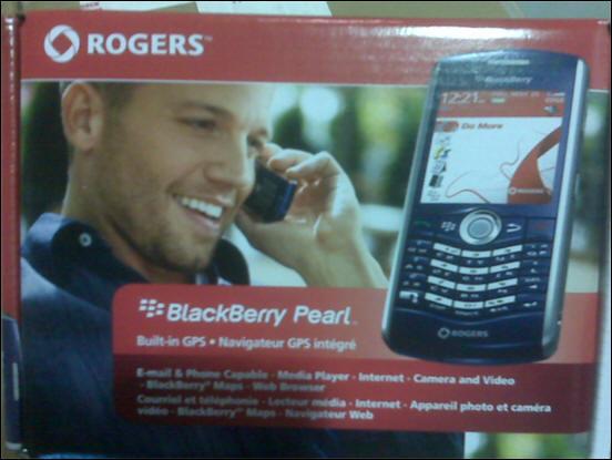 Rogers BlackBerry Pearl 8110