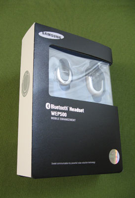 SamSung WEP 500 Bluetooth Headset