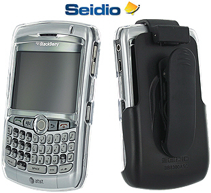 Seidio Crystal Case and Holster for the BlackBerry Curve Series