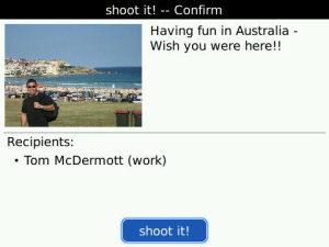 Shoot It! for BlackBerry