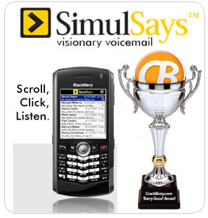 "SimulScribe Best of WES 2007 ""MUST HAVE APPLICATION"" winner"