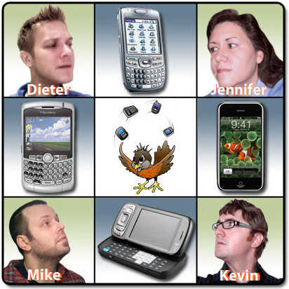 Smartphone Round Robin Editors