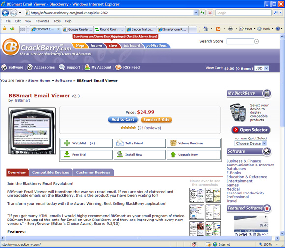 Software Page