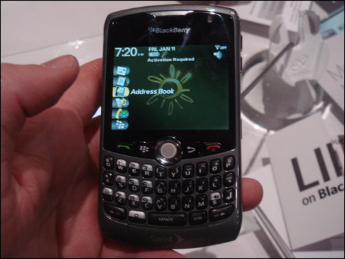 Sprint BlackBerry 8330 Curve Coming This Week?!