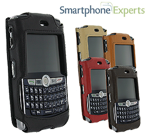 Smartphone Experts OpenFace Leather Case for the BlackBerry 8800 Series