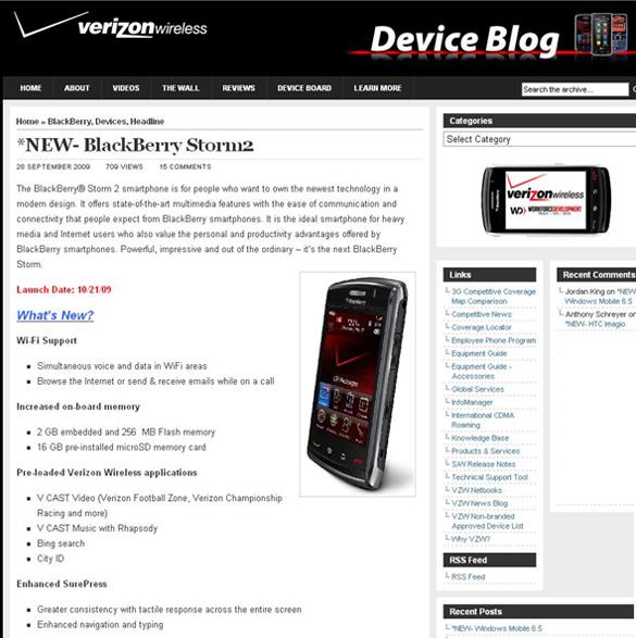 Verizon Blog