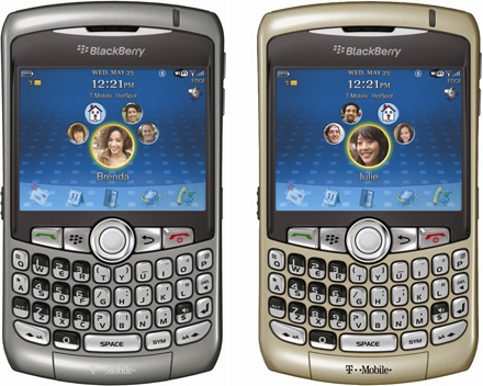 T-Mobile BlackBerry 8320
