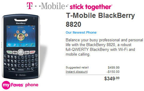 T-Mobile 8820 Launched!