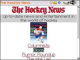 TheHockeyNews.com goes Mobile