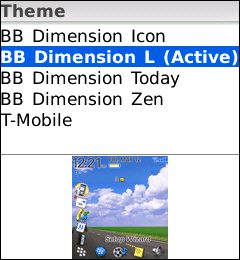 T-Mobile BlackBerry 8120
