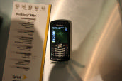 Sprint BlackBerry Pearl 8130