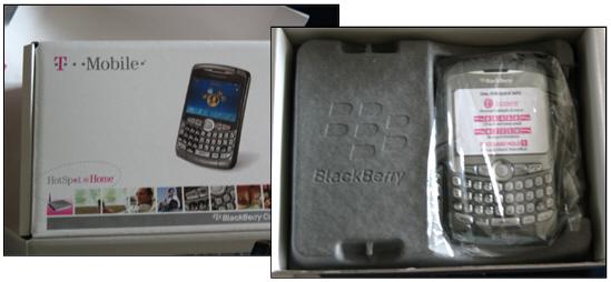 T-Mobile BlackBerry 8320