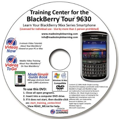 Made Simple Learning Training DVDs for BlackBerry