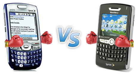 Treo vs. BlackBerry