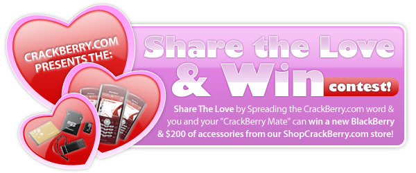 Share the Love and Win BlackBerry Giveaway!