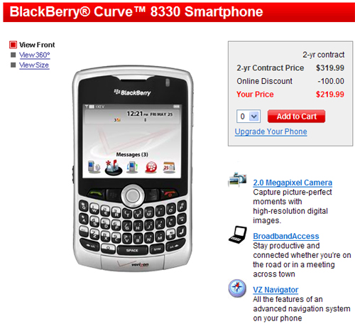 Verizon Curves for Sale!
