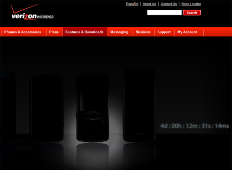 Verizon Teaser Website