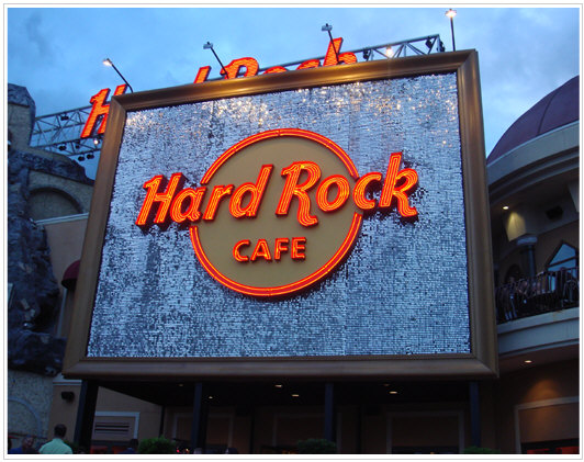 WES Hard Rock Cafe party