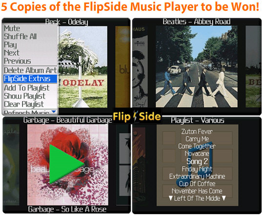 Win a Copy of FlipSide's Music Player