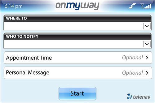 OnMyWay From TeleNav Now Available To Sprint, Verizon And T-Mobile Users