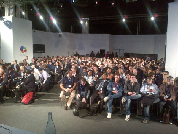 BlackBerry developers at MWC 2012