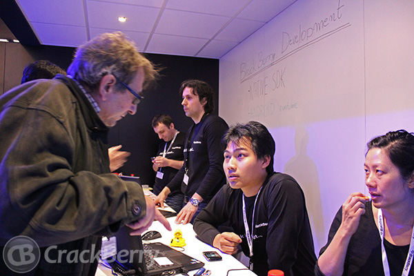 BlackBerry Developer Zone at MWC 2012