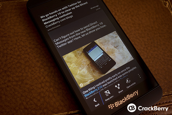 gNewsReader for BlackBerry 10