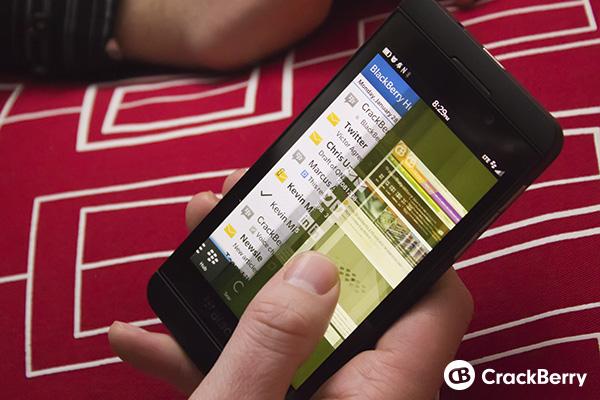 BlackBerry Z10 Hub