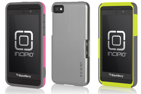 incipio announces full spread of blackberry z10 cases. Black Bedroom Furniture Sets. Home Design Ideas