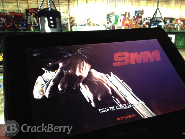 9mm HD for the BlackBerry PlayBook