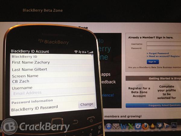 BlackBerry Beta Zone
