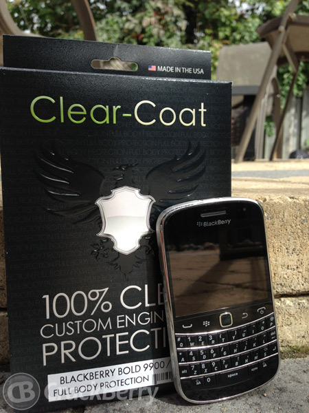 Clear-Coat for the BlackBerry Bold 9900
