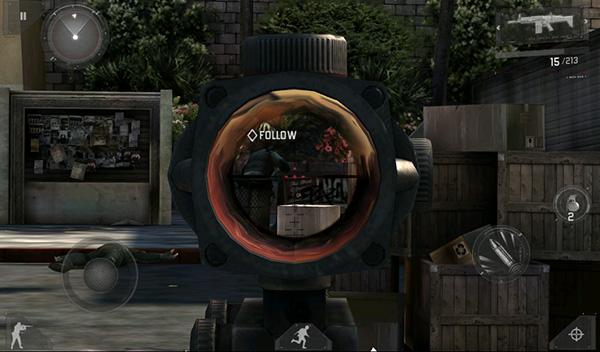 Modern Combat 3 Graphics