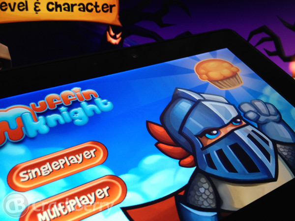 Muffin Knight for the BlackBerry PlayBook