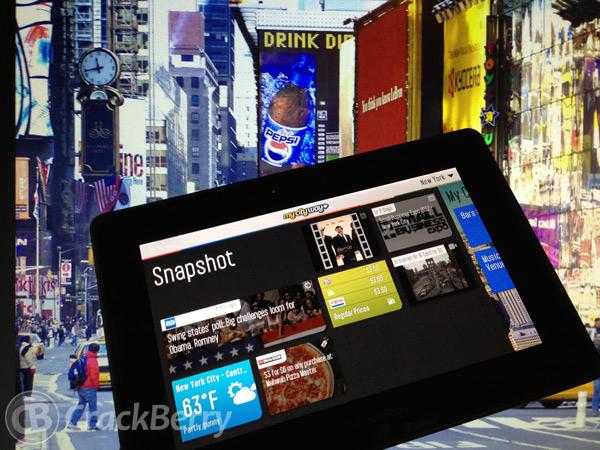 MyCityWay for PlayBook