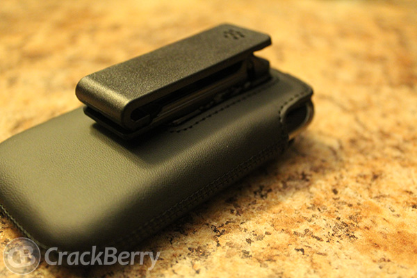 OEM holster for the BlackBerry Curve 9360 back