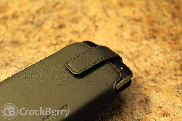 OEM holster for the BlackBerry Curve 9360 front