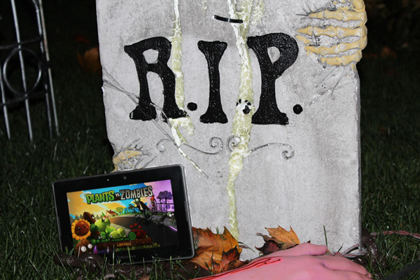 Plants vs. Zombies for the BlackBerry PlayBook