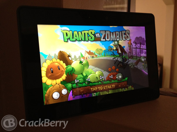 Plants Vz Zombies PlayBook